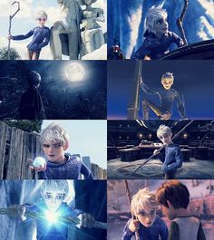 rise of the guardians jack frost center - Google Search