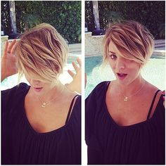 Kaley Cuoco Is the Latest Star to Try Short Hair For Summer: When it comes to celebrities wanting to debut their new hairstyles, a red carpet just isn't good enough for some stars.
