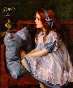 megan howland art | Louise Howland King Cox (1865-1945)
