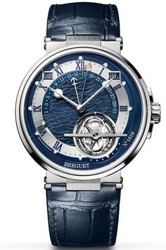 Breguet Marine Équation Marchante 5887 - Find out how this unique timepiece displays the running equation of time by visiting us at WatchTime.