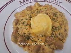Ciuperci cu Smântână și Afumătură - Dalida Cuisine