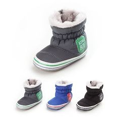 Baby kids girl boy snow #booties #antiskid toddler soft crib #shoes winter boots,  View more on the LINK: http://www.zeppy.io/product/gb/2/182304502630/