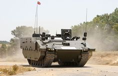 The first SCOUT SV pre-production prototype, a Protected Mobility Recce Support (PMRS) variant. In service, PMRS will provide safe transportation of fully-equipped soldiers in a well-protected environment.  On dismount, troops will be able to more effectively conduct a variety of tasks, such as dismounted surveillance (including patrols), observation posts and close target reconnaissance.  Its extensive capabilities include acoustic detectors, a laser warning system, a local situational ...