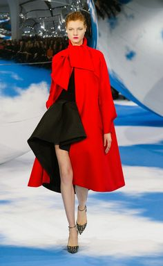 Red riding hood? re interpreted by Dior Fall-Winter 013-014
