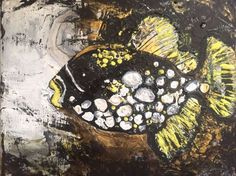 Buy Fish - Yellow, Acrylic painting by Kumi Rajagopal on Artfinder. Discover thousands of other original paintings, prints, sculptures and photography from independent artists.