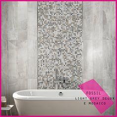 collezione FOSSIL, per tutti i prodotti visita il nostro sito www.abk.it #abk #ceramica #cool #ceramics #design #tile #fossile #stone #gray #mosaico #wall #gres #decor