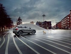 It's a dog's life? A pretty fancy one when you cruise through the city in your Q2. #AudiQ2 #SUV #bowwow