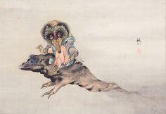 高井鴻山『妖怪図』江戸時代(19世紀)個人蔵 撮影:大屋孝雄  前期(7月5 日~7月31日)展示