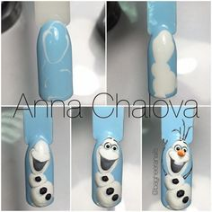 Super Nails Design Christmas Snowman 19 Ideas - Clara Wish Christmas Nail Designs, Christmas Nail Art, Holiday Nails, Christmas Snowman, Christmas Design, Christmas Decorations, Olaf Nails, Fun Nails, Winter Nail Art