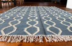 Rope Rug (Blue/Winter White) Available on http://www.waringsathome.co.uk/for-the-home/rugs.html?limit=all