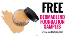 Get FREE Dermablend Foundation Samples! Get a sample of their Smooth liquid Camo Foundation. Try our best full coverage foundation that provides all-day Free Beauty Samples, Free Makeup Samples, Free Samples, Cream Contour, Cream Concealer, Free Stuff By Mail, Get Free Stuff, Best Full Coverage Foundation, Freebies By Mail