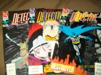 Detective Comic's set of 3 #641,642,643