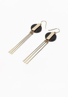 29€ - Dangling medallion earrings