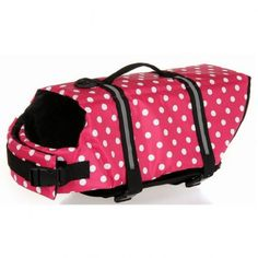 Outward Dog Life Jacket for Dog Safety Vest Dog Jacket Dog Preservers Saver,Pink Ploka Dot,L - http://www.thepuppy.org/outward-dog-life-jacket-for-dog-safety-vest-dog-jacket-dog-preservers-saverpink-ploka-dotl/
