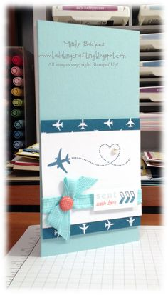 Sent with Love Kit - Tall Card  by Bada-Bing! Paper-Crafting!