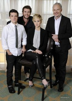 I think they had jen sit down so he wouldnt be the shortest