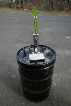 Oil Drum DIY Kegerator
