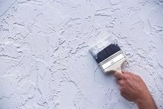 Фактурная штукатурка из обычной шпаклевки Painting Textured Walls, Faux Painting, Drywall Texture, Abstract Painting Techniques, Diy Backdrop, Photography Backdrops, Brick Wall, Kitchen Interior, My Room