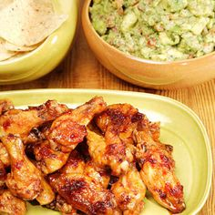 This recipe for spicy citrus caramel chicken wings is courtesy of Martha's personal chef, Pierre Schaedelin.