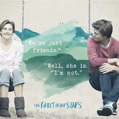 Afbeelding via We Heart It https://weheartit.com/entry/140525773/via/3736022 #shailenewoodly #thefaultinourstars #hazelgrace #agustuswaters #anselelgort