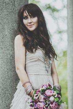 невеста в стиле рок #bride #style #rok