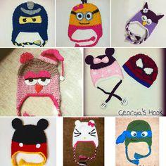 """0 """"Μου αρέσει!"""", 1 σχόλια - Georgia's Hook (@georgias_hook) στο Instagram: """"#Lego_Ninjago #minions #owl #minnie_mouse #mickey_mouse #Spiderman #hello_kitty #turtle_ninja…"""" Georgia, Lego Ninjago, Minions, Spiderman, Hello Kitty, Owl, Kids Rugs, Instagram, Home Decor"""