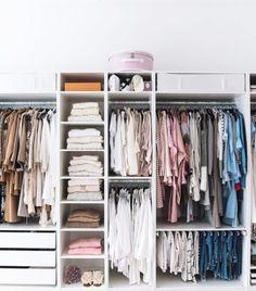 Ideas Ikea Closet Organization Pax Wardrobe Master Bedrooms For 2019 Walk In Closet Design, Bedroom Closet Design, Master Bedroom Closet, Wardrobe Design, Closet Designs, Dorm Closet, Master Bedrooms, Closet Space, Bedroom Closets