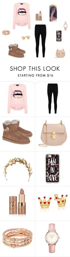 Lips by queenraina1 on Polyvore featuring Markus Lupfer, Boohoo, UGG, Chloé, Henri Bendel, Topshop, Casetify, Laurel Wreath Collection and tarte