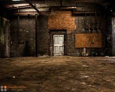 Een mooie oude fabriekshal
