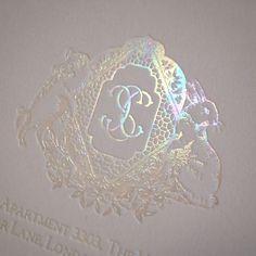 Mother of Pearl monogram crest for a luxury wedding invitation wedding invitations Luxury Wedding Invitations, Event Invitations and Fine Stationery in New York City Letterpress Wedding Invitations, Wedding Stationary, Wedding Invitation Cards, Event Invitations, Colorful Wedding Invitations, Affordable Wedding Invitations, Gold Picture Frames, Branding, Monogram Wedding