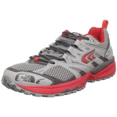 57b78763194c Cool The North Face Womens Single Track Alloy Quicksilver Grey Snowcone Red  US 5.5 M Euro 36.5 M