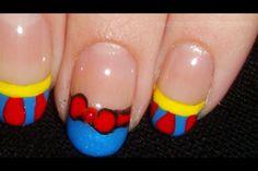 Totallycoolnails Snow White nail art