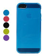 простой конструкции TPU мягкий чехол для iphone 5/5s (разных цветов) – RUB p. 68,67