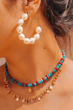 Cute Jewelry, Unique Jewelry, Jewelry Accessories, Jewelry Design, Women Jewelry, Fashion Jewelry, Bold Jewelry, Trendy Jewelry, Summer Jewelry
