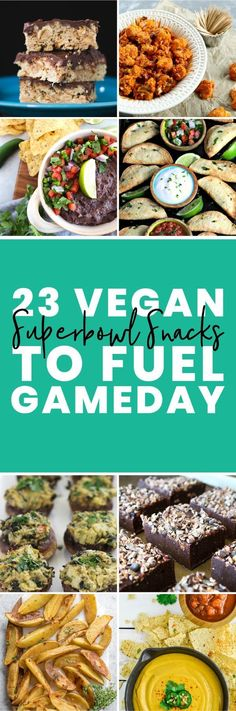 23 vegan snacks to score your own touchdown in the kitchen! From dips, to finger foods, to sweet treats… this roundup has a little bit of everything. Click through for delicious game day snacks. Game Day Snacks, Game Day Food, Smoked Salmon Appetizer, Homemade Trail Mix, Trail Mix Recipes, Healthy Granola Bars, Vegan Party Food, Football Snacks, Healthy Dips