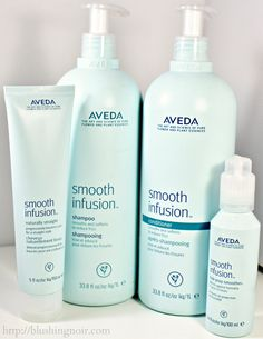 Aveda Smooth Infusion Naturally Straight Hair Care