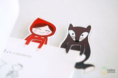 DIY – le marque-page du petit chaperon rouge (imprimable)