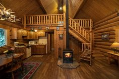 The Hunter Cabin at the Western Pleasure Guest Ranch located in Sandpoint Idaho. #wpguestranch #huntercabin