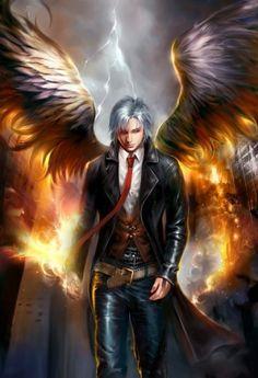 Ángel desterrado   Causa: absorción y utilización de magia