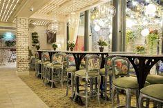 Copper Blossom Cocktail Lounge by Tibbatts Abel, Edinburgh – UK » Retail Design Blog
