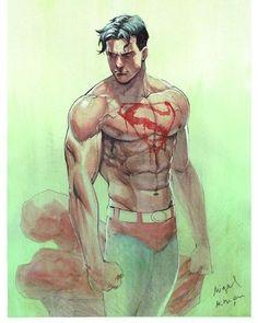Drawing Superheroes, Dc Comics Superheroes, Dc Comics Characters, Dc Comics Art, Marvel Dc Comics, Superman Love, Superman Comic, Superman Anime, Superman Cosplay