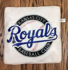 KANSAS CITY ROYALS Baseball Club Seat Cushion Vintage Dodge