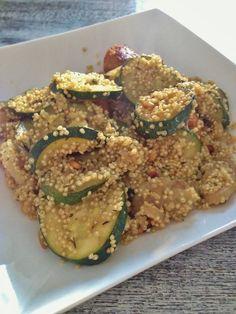 DeniChant | Food – Recept: Gezond and Snel – Quinoa met courgette en ui | http://denichant.nl