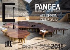 The #Pangea #table by #Riva1920 selected for #ADI Design Index 2016
