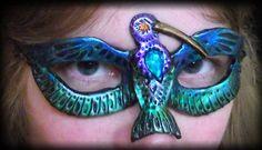 Magnificent Hummingbird Mask by Namingway.deviantart.com on @DeviantArt