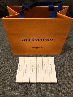 LOUIS VUITTON 6 Samples 3 x ATTRAPE-RÊVES, 3 x LE JOUR SE LÈVE NEW!!! #Ad , #spon, #Samples#ATTRAPE#LOUIS Louis Vuitton, Korean Fashion Street Casual, Perfume Samples, News 6, Cool Girl, Fragrance, Louise Vuitton, Perfume, Louis Vuitton Monogram