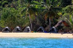 Camping on Lokobe, Madagascar