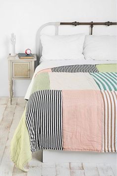 Really comfy looking quilt