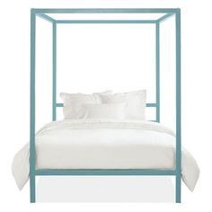 Architecture Kids' Canopy Bed in Colors - Modern Beds - Modern Kids Furniture - Room