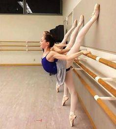 1000 images about ballet barre exercises on pinterest On barre de danse pliable